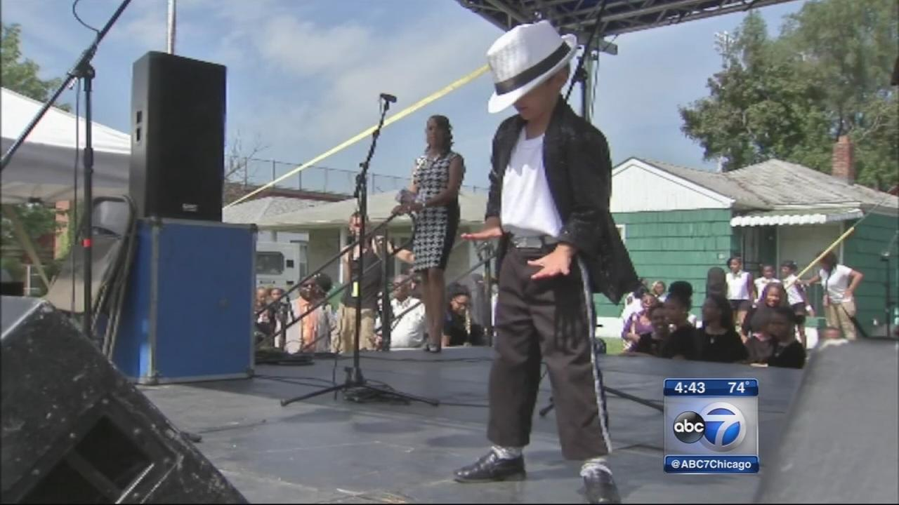 Michael Jackson tribute festival underway in Gary