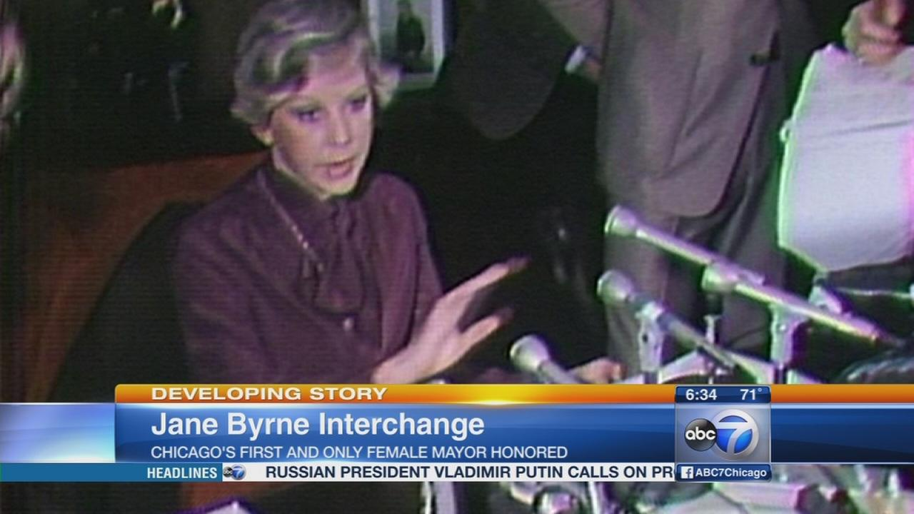 Jane Byrne to be honored at Circle Interchange dedication