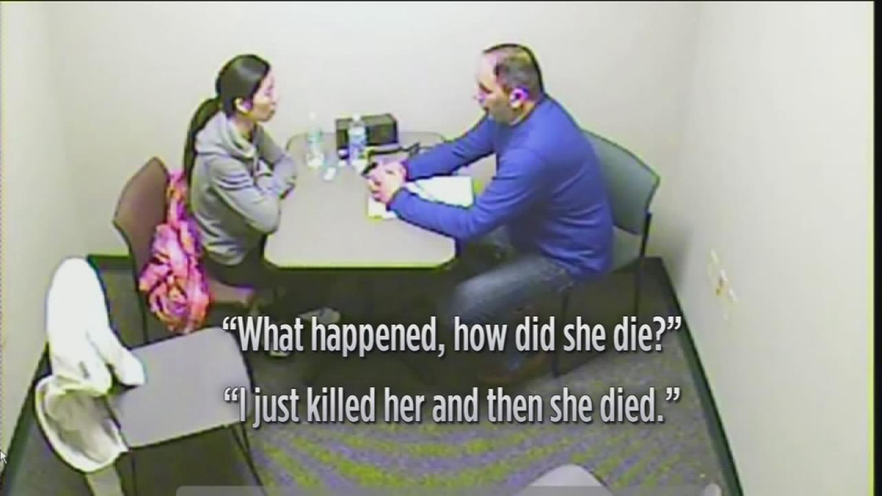 VIDEO: Mom confesses to killing 5-year-old daughter