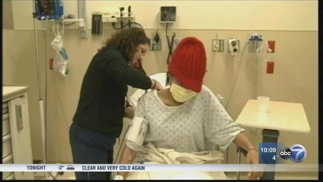 Cook County doctors see spike in flu cases this winter