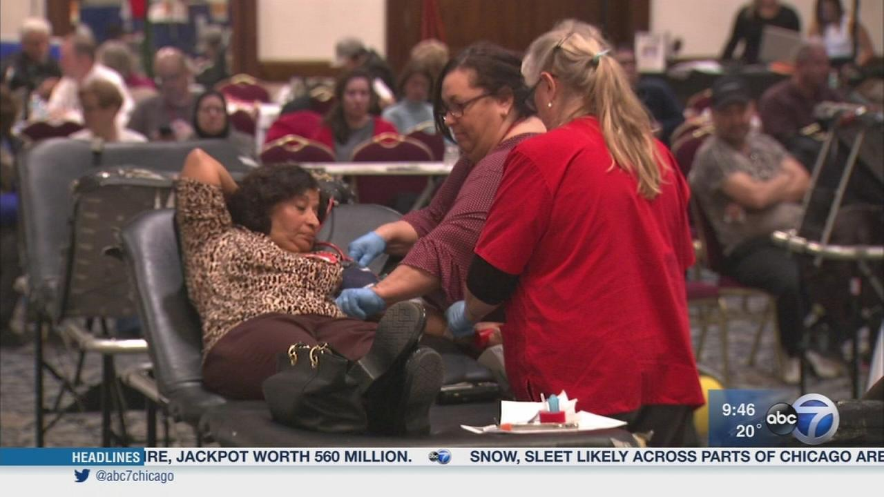 Newsviews Part 1: Great Chicago Blood Drive