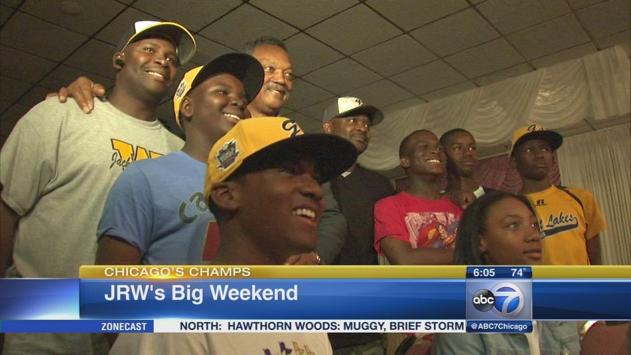 JRW to visit Operation Push, White Sox game this weekend