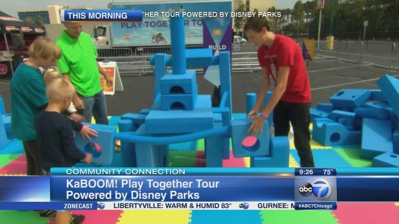KaBOOM! Play Together Tour comes to Lincoln Park