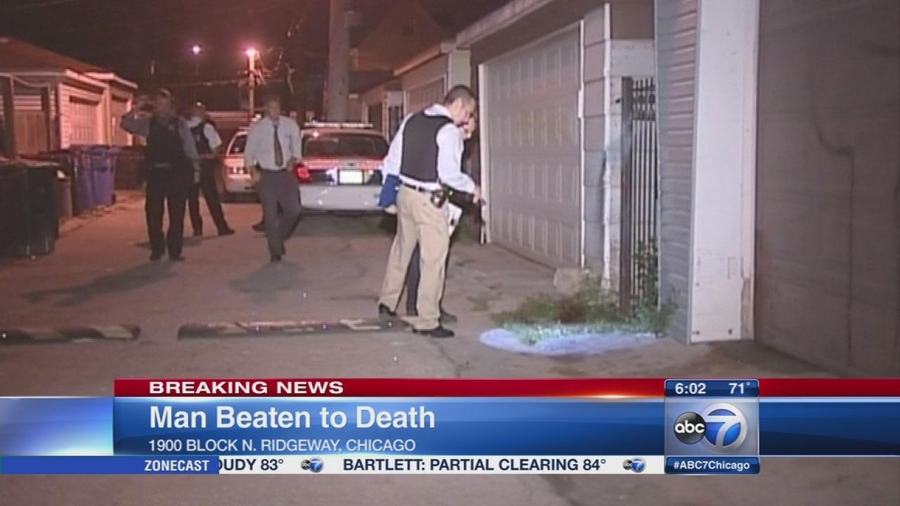 Man beaten to death in Logan Square