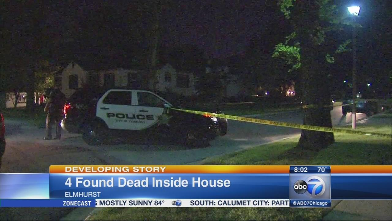 Elmhurst family found dead in home