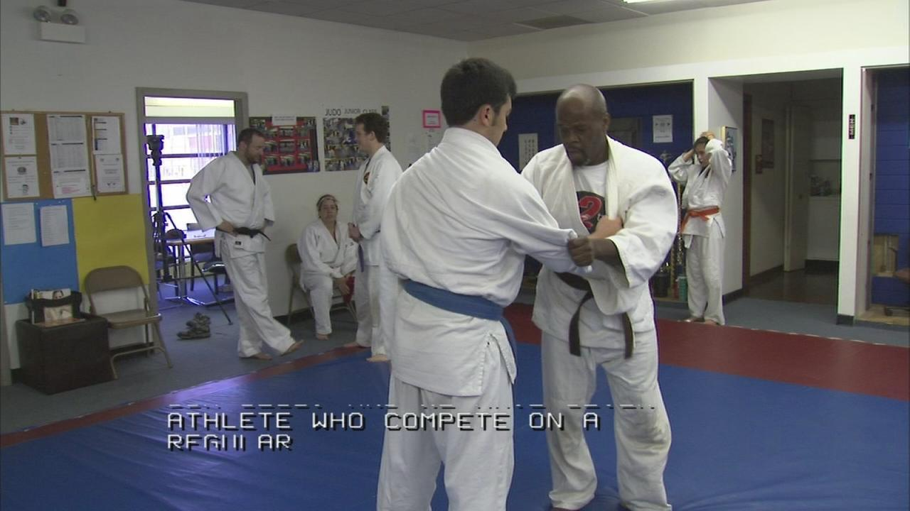 Competitive judo increases in popularity for the visually impaired
