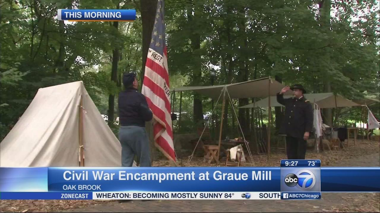 Graue Mill civil war encampment brings history to life