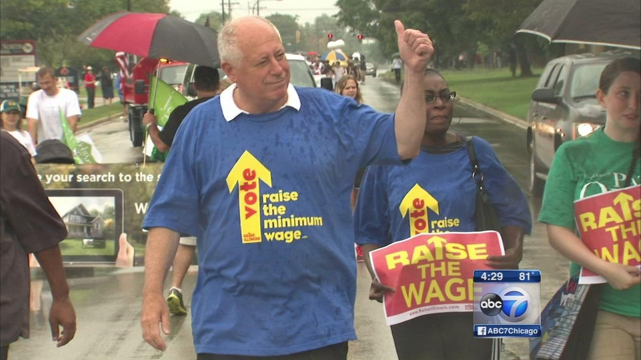 Quinn, Rauner kick off fall campaign season on Labor Day