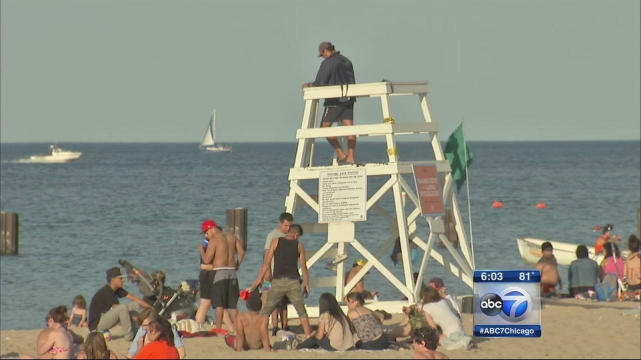 Labor Day gives Chicago last blast of summer