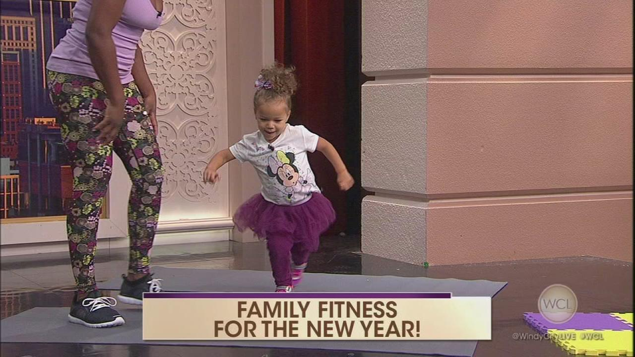 Fitness for the whole family.