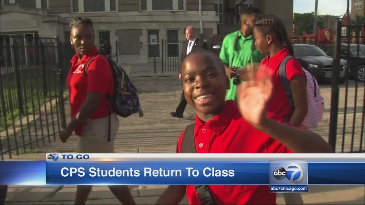 CPS students return to class