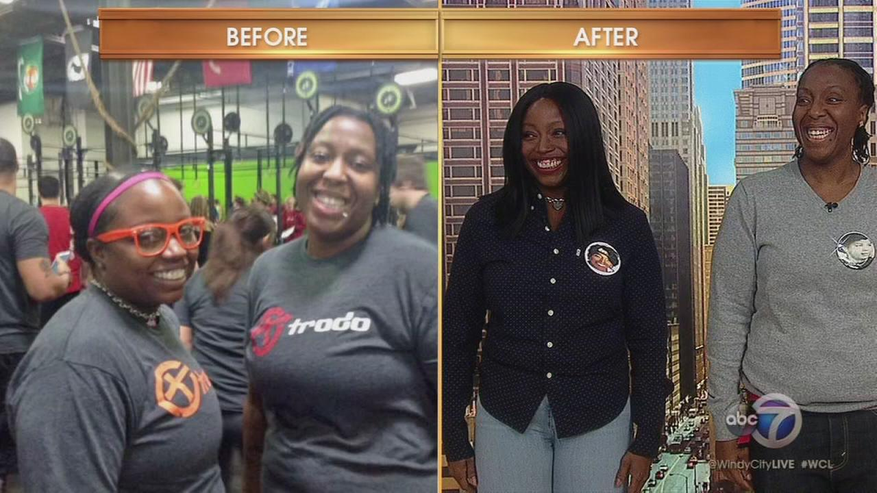 Co-workers work out together, lose 180 pounds