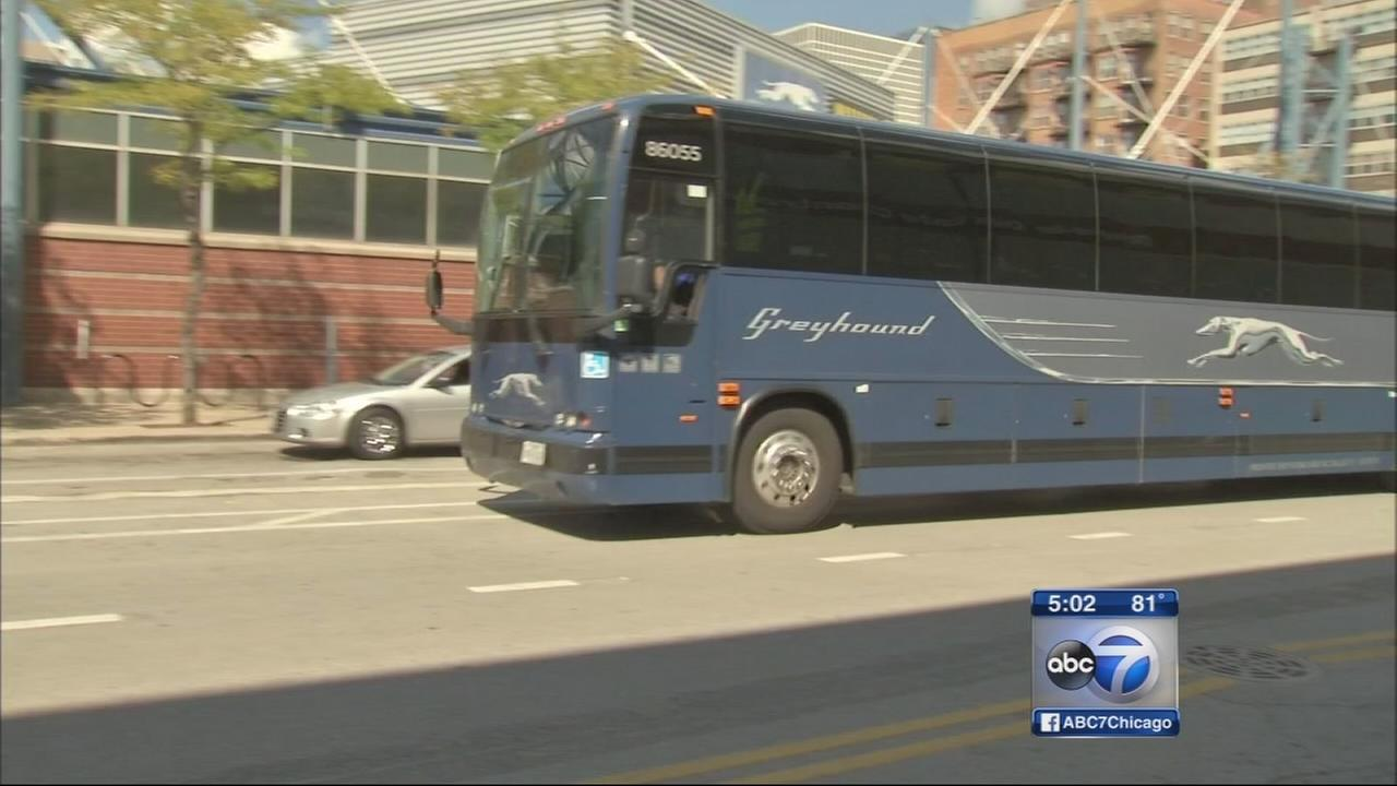 Greyhound passengers claim bus stranded them downstate