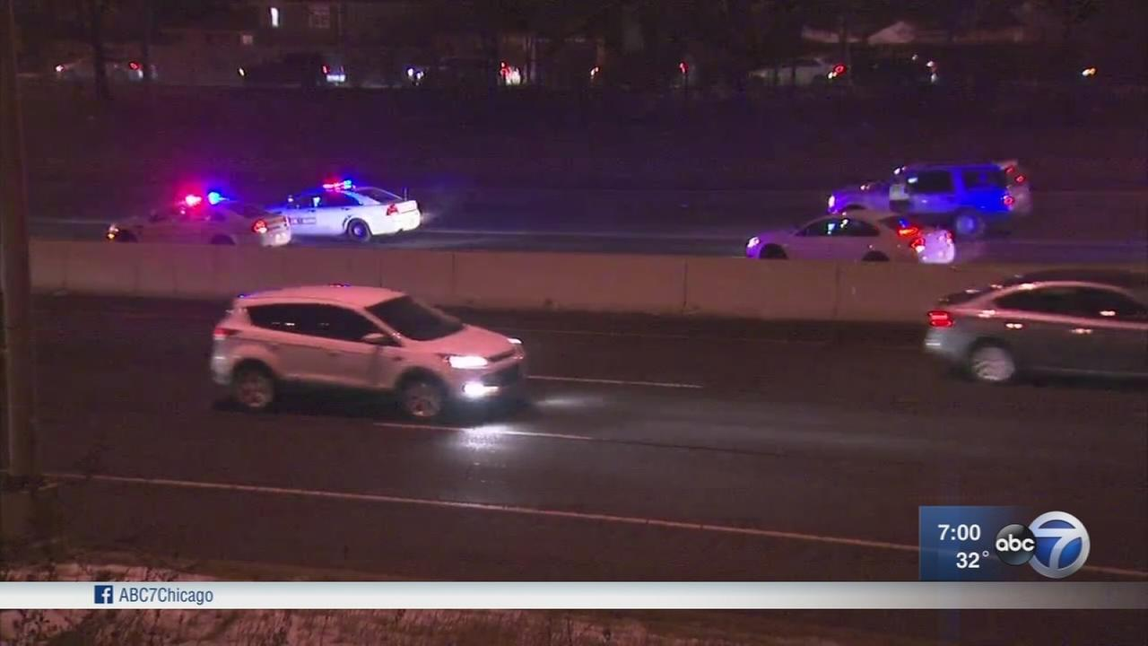 SB I-57 lanes shut down between Halsted and 101st Street due to shooting
