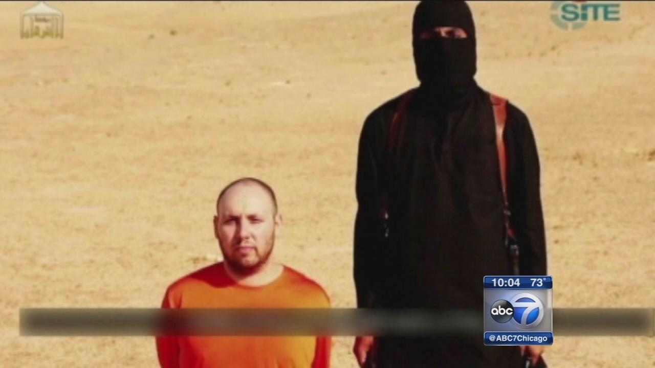 Steven Sotloff execution purportedly shown in ISIS beheading video
