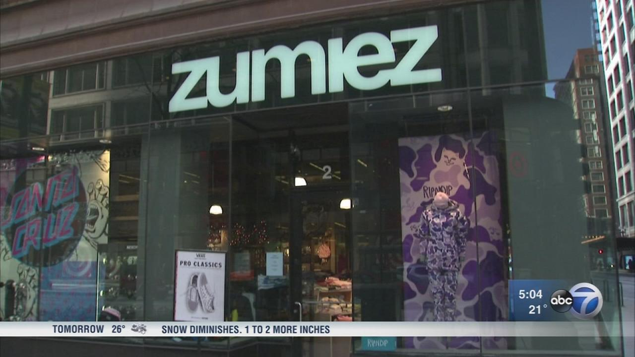 Zumiez store employees report attacks by shoplifters in Chicago