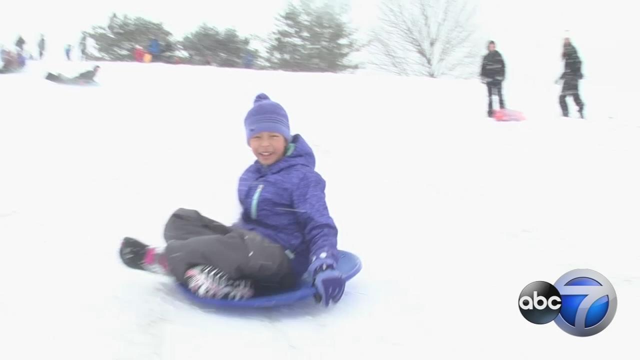 sledding redo