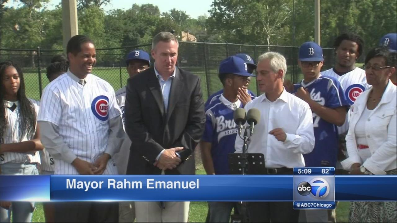 JRW inspires improvements at 3 city parks