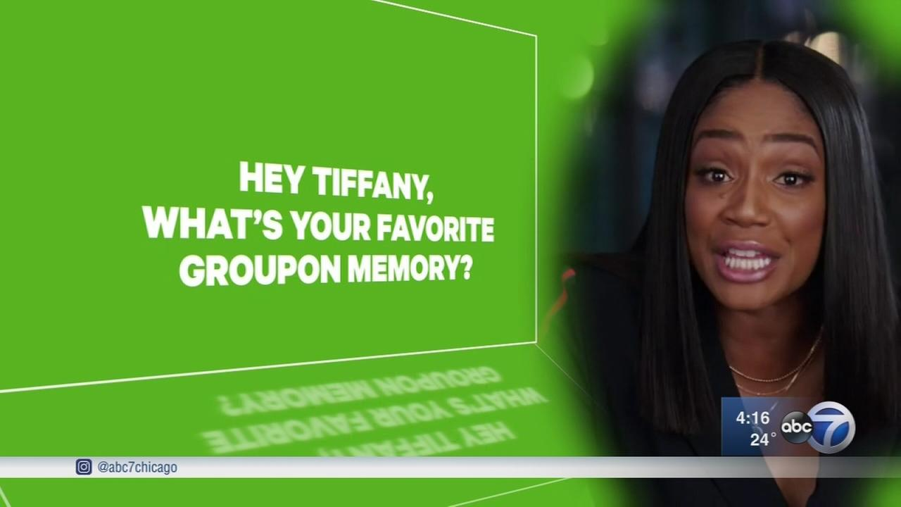 Tiffany Haddishs viral story nabs her a Groupon gig