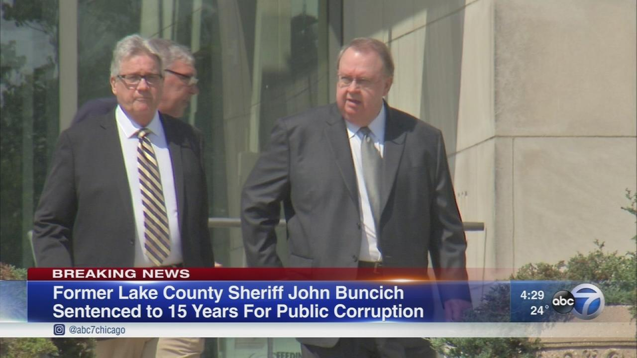 Ex-Lake County Sheriff John Buncich sentenced to 15 years, 8 months