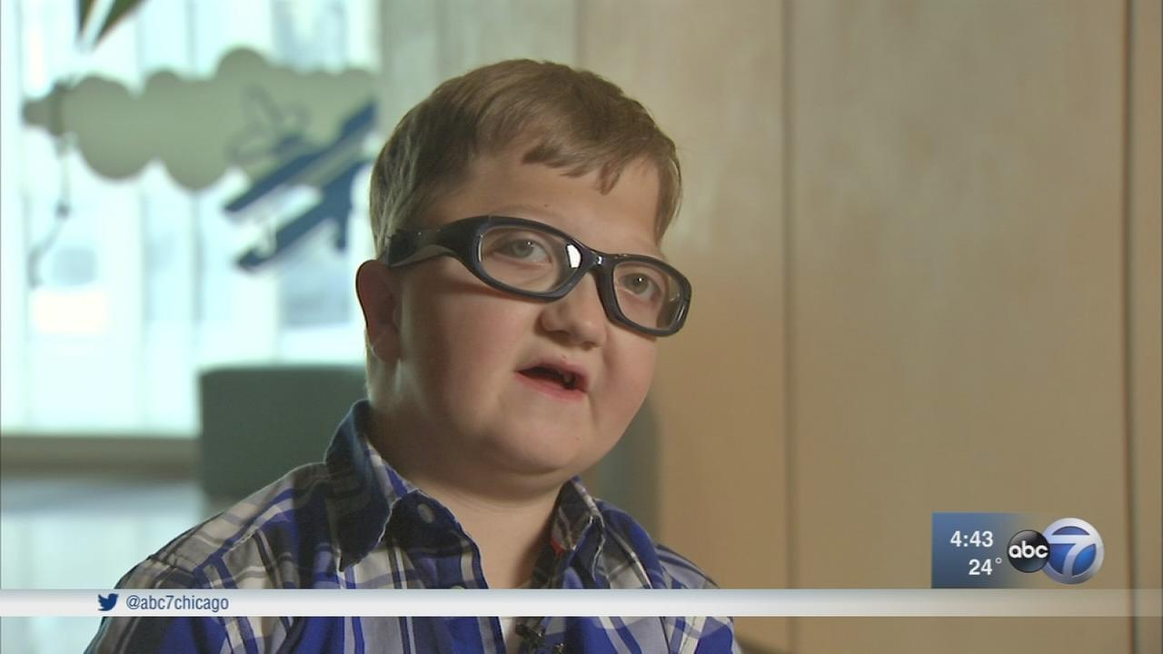 Boy with rare condition flies from Mississippi for treatment in Chicago