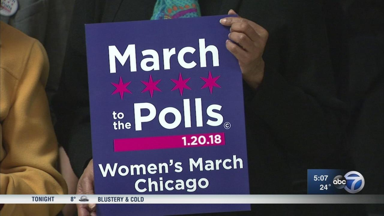 Saturdays Womens March Chicago seeks to energize women in politics