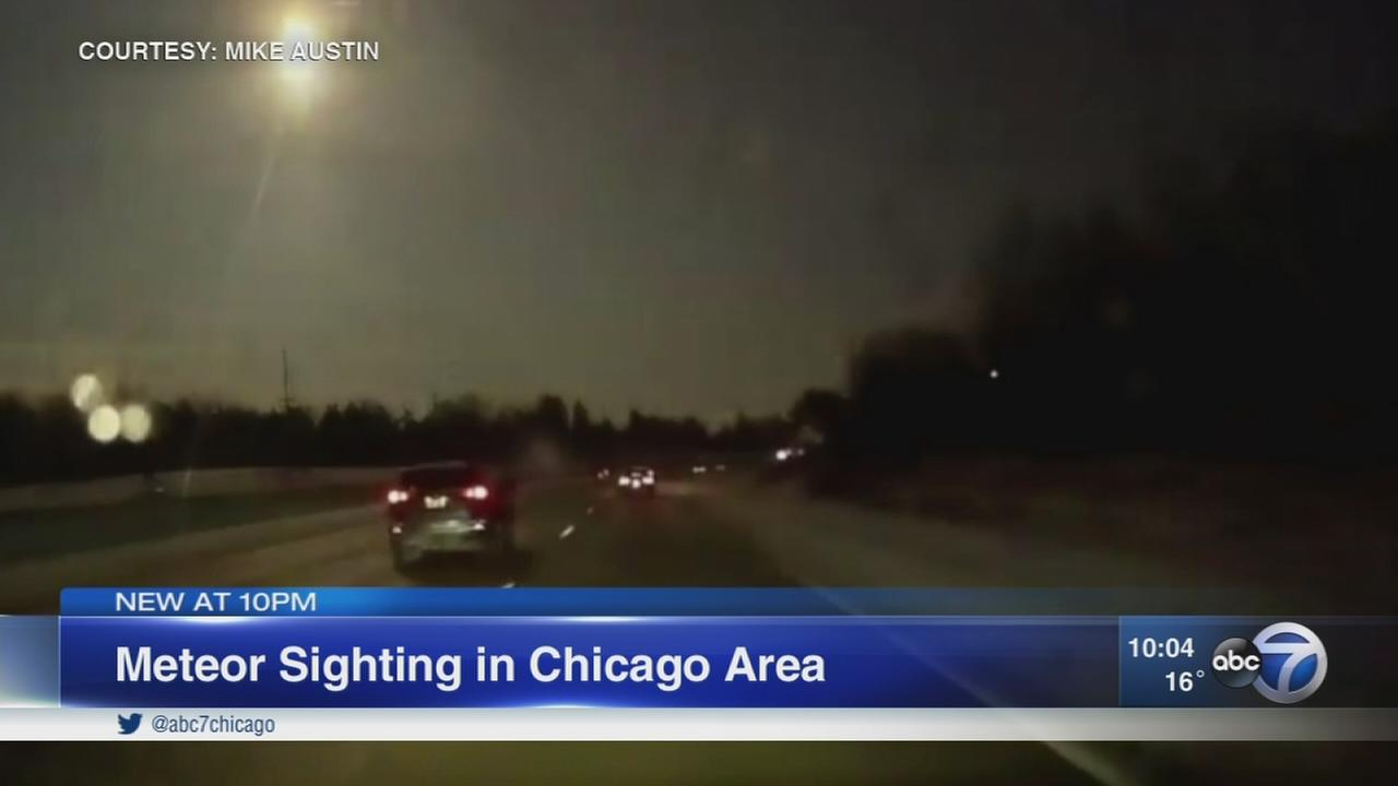 Possible meteor spotted in Chicago area; AMS flooded with calls