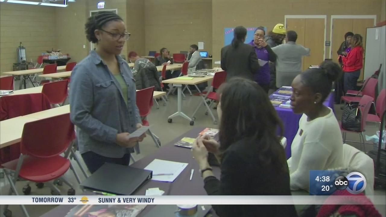 Women learn job skills at Englewood seminar
