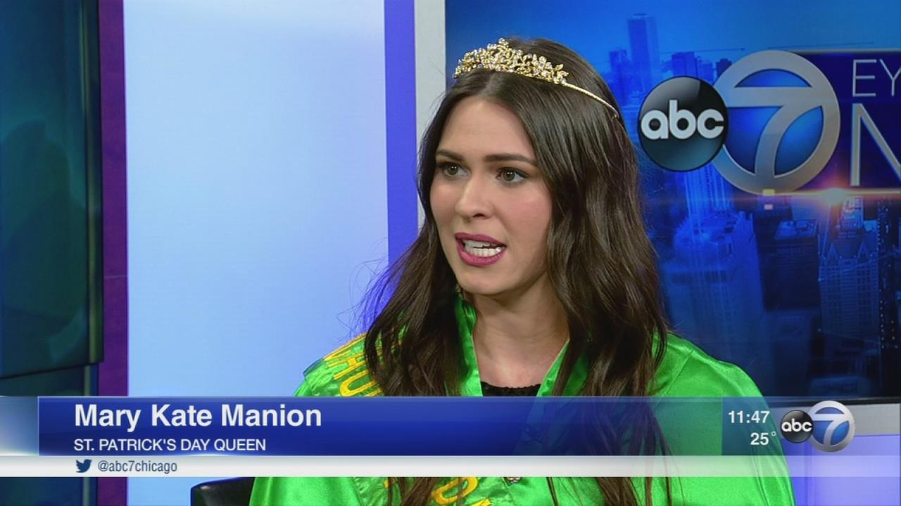 St. Patrick?s Day Queen talks about honor