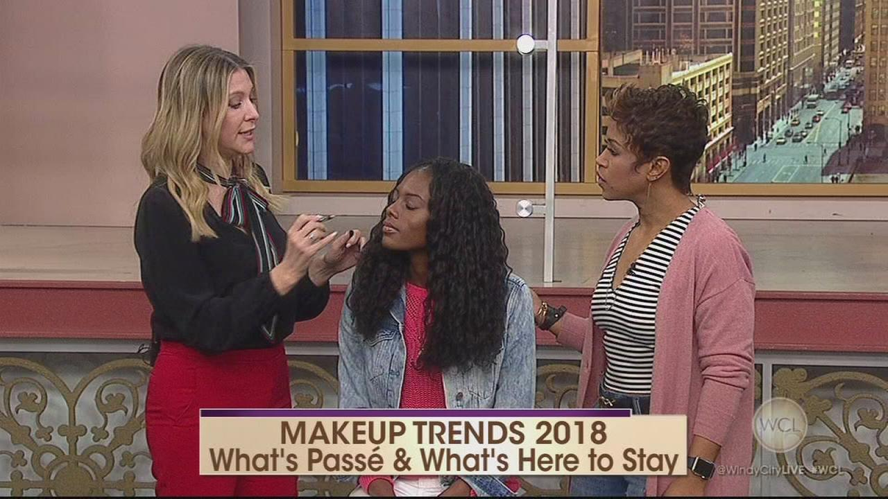 Jenny Patinkin shares makeup trends for 2018