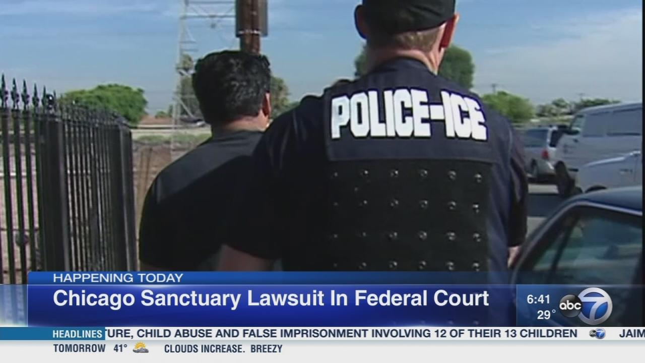 Chicago sanctuary lawsuit in federal court