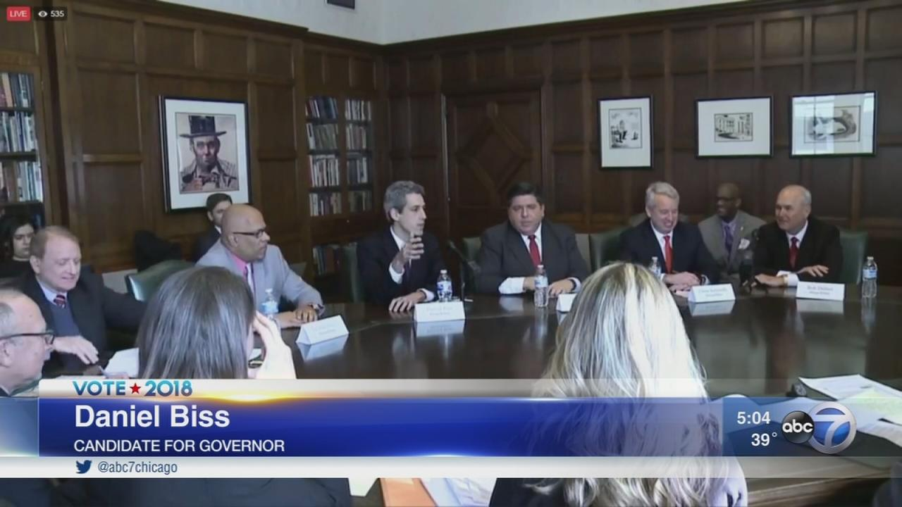Democratic candidates for governor speak at forum