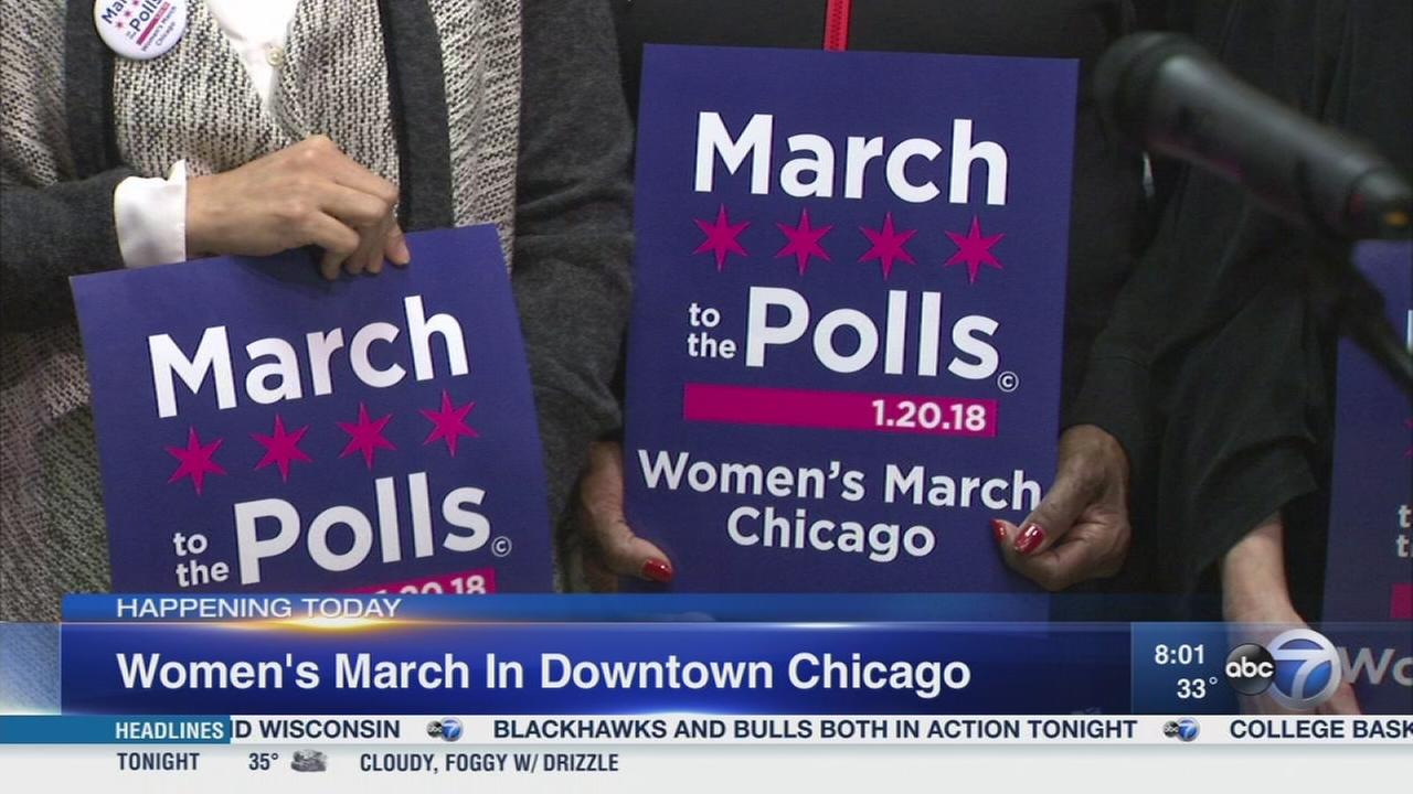 Thousands expected for Womens March Chicago