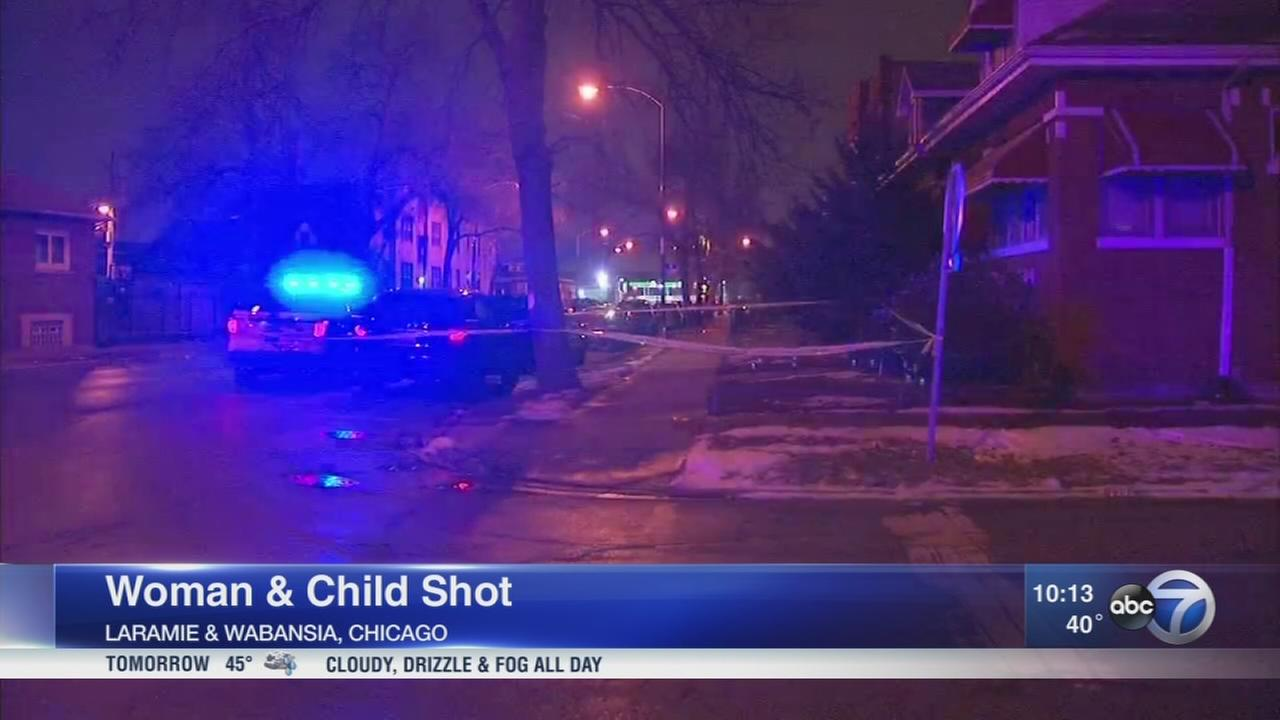 5-year-old girl, 30-year-old woman wounded in Hanson Park shooting