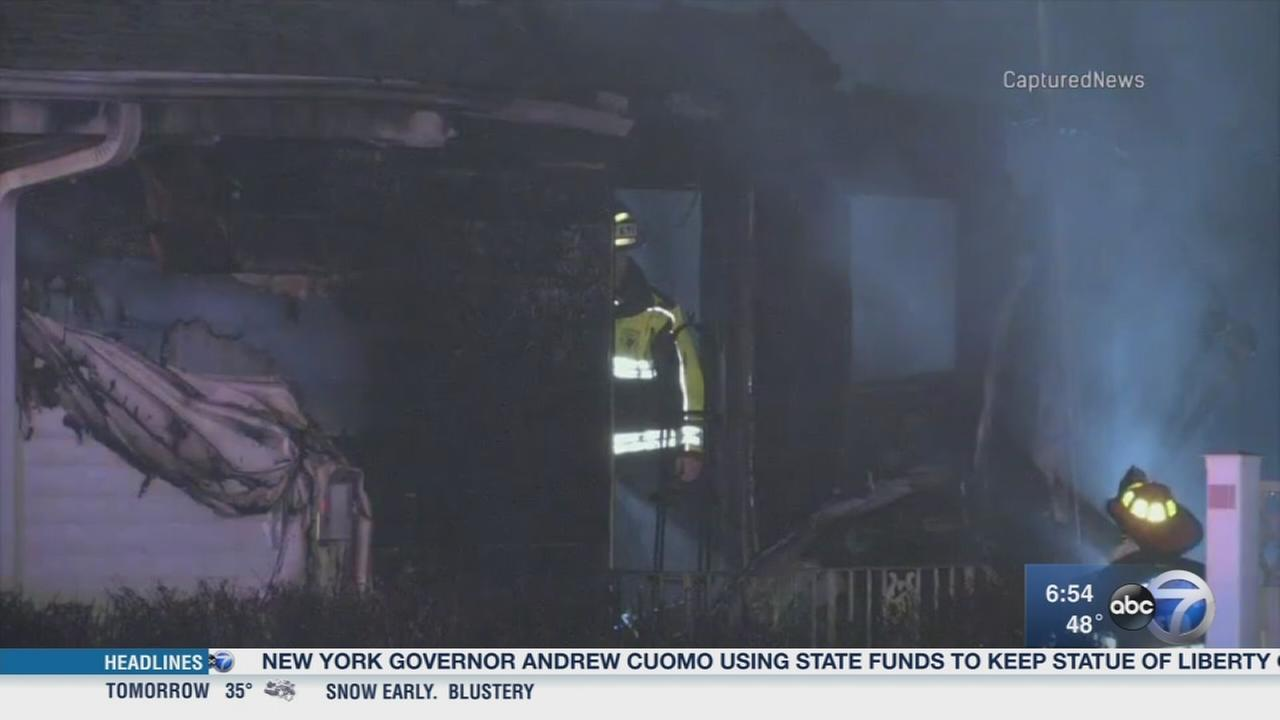 Elderly couple killed in Addison house fire