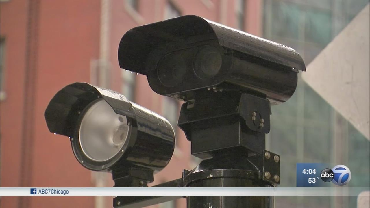 Red light cameras on Michigan Avenue now activated