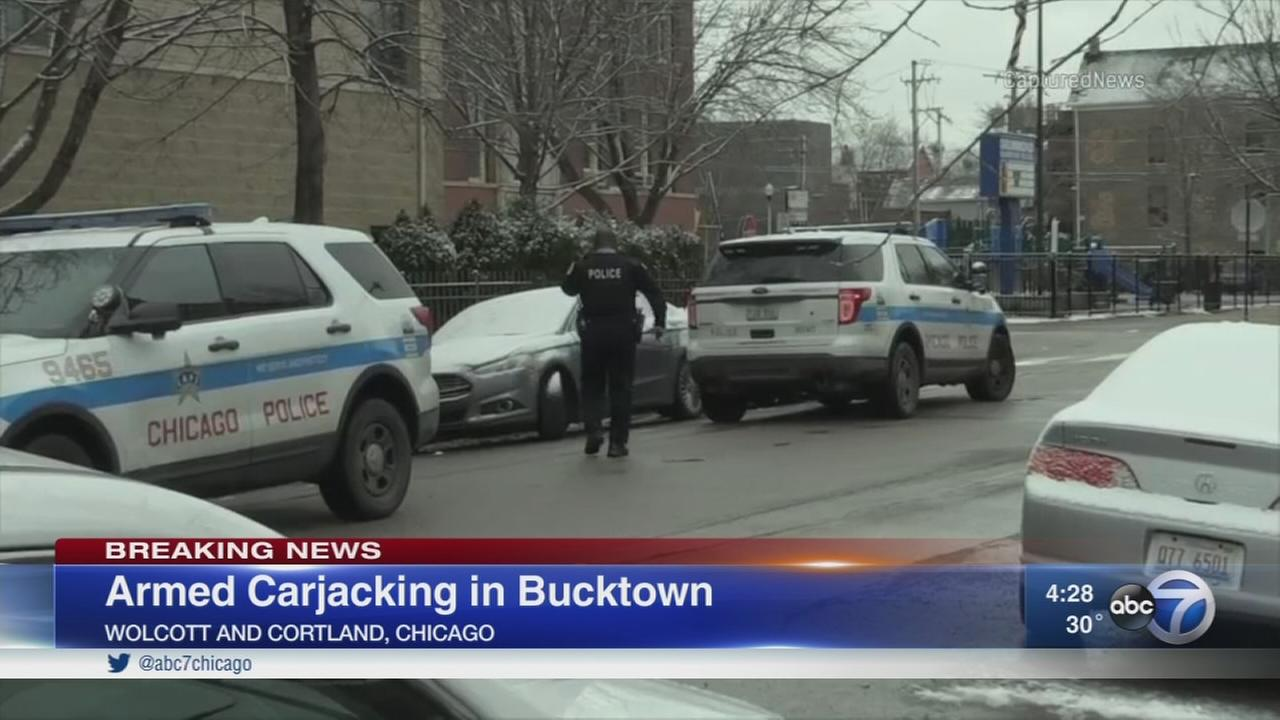 Off-duty CPD detective carjacked at gunpoint in Bucktown