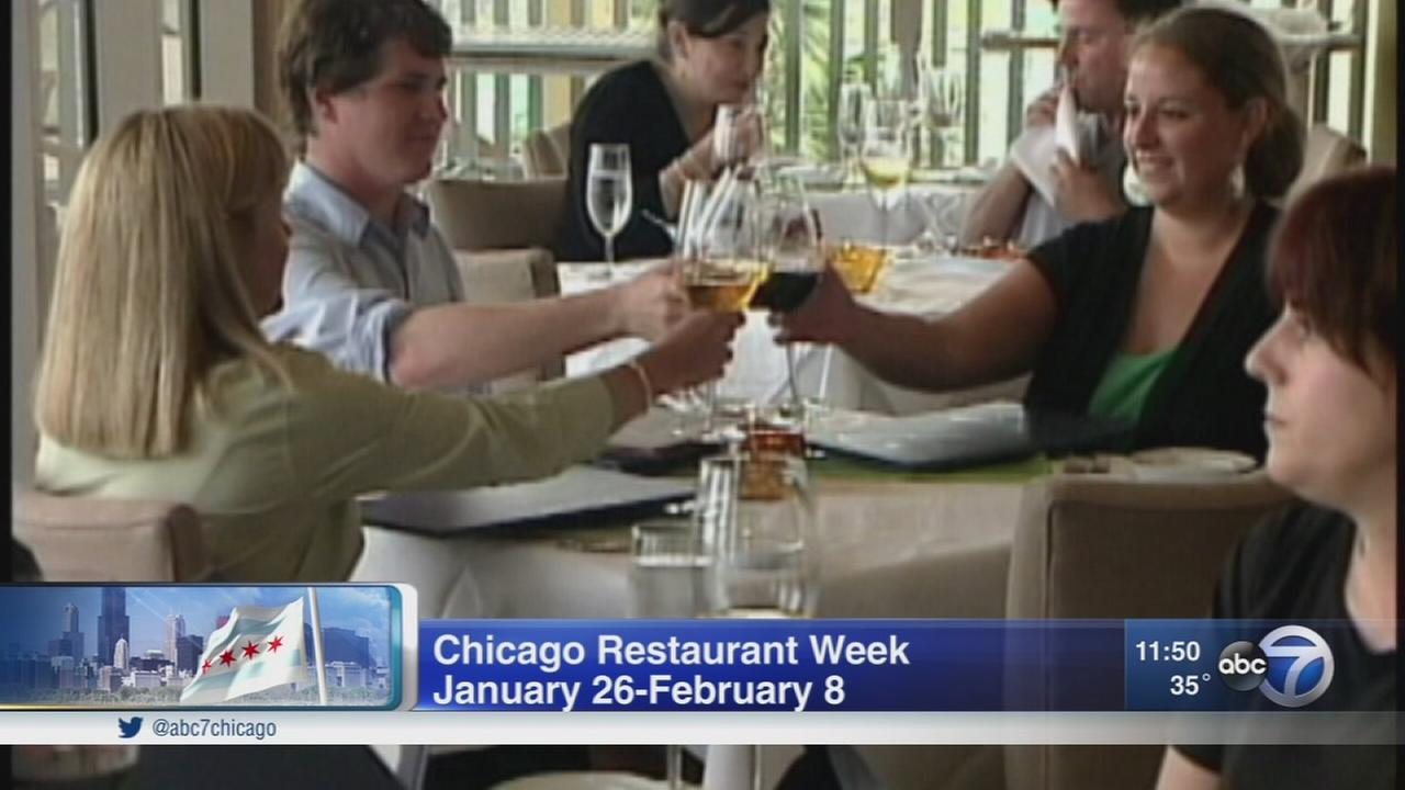 Try new restaurants during Chicago Restaurant Week