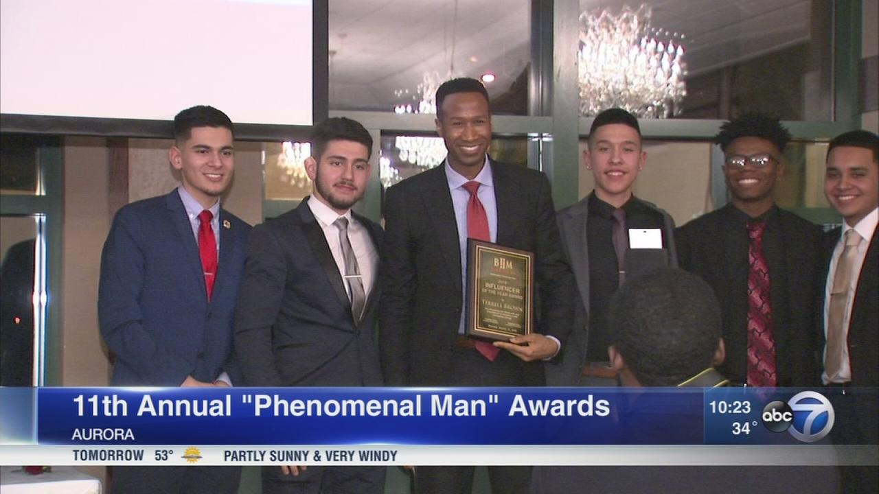 ABC7s Terrell Brown honored