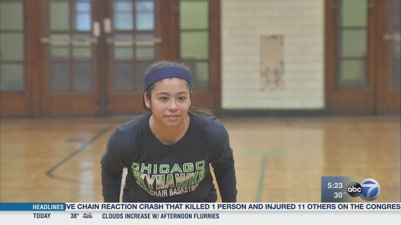 Chicago 13-year-old makes U.S. wheelchair basketball team