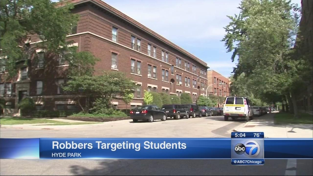 U of C students targeted in string of robberies