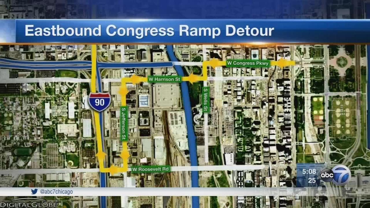 Inbound Kennedy to Congress closed for 2 years