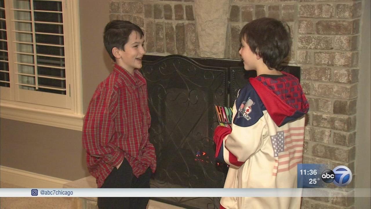 Good Samaritan rescues 2 boys from frozen Frankfort pond