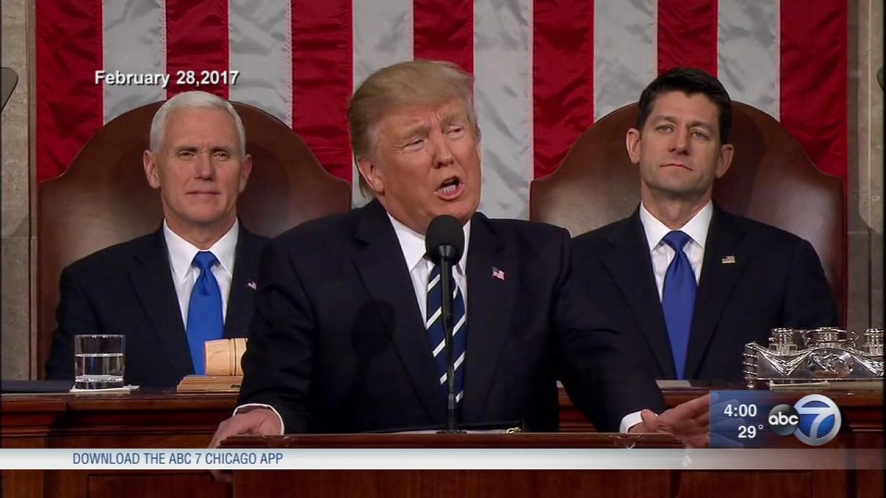 State Of The Union 2018 Donald Trump Warns Of Immigration Dangers