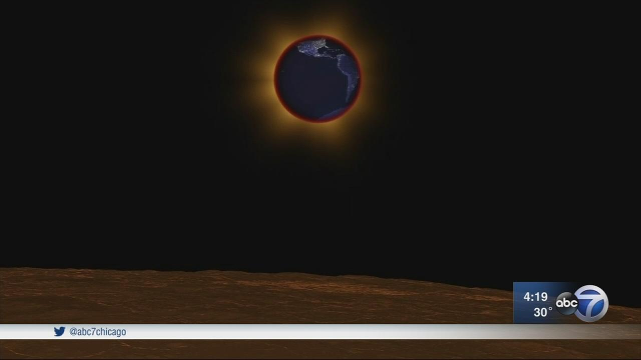 How to watch the lunar eclipse in Chicago next week