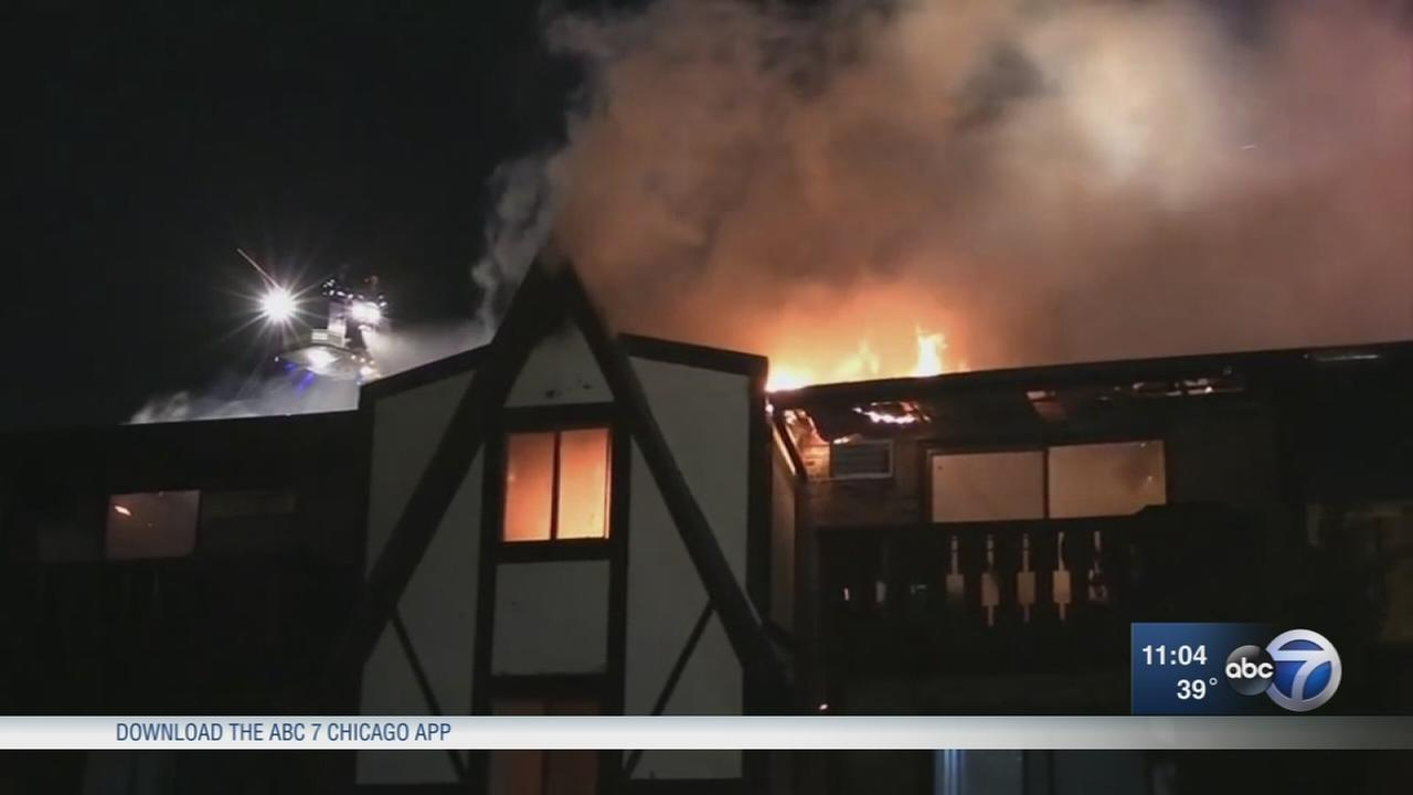 16 displaced after Westmont apartment fire