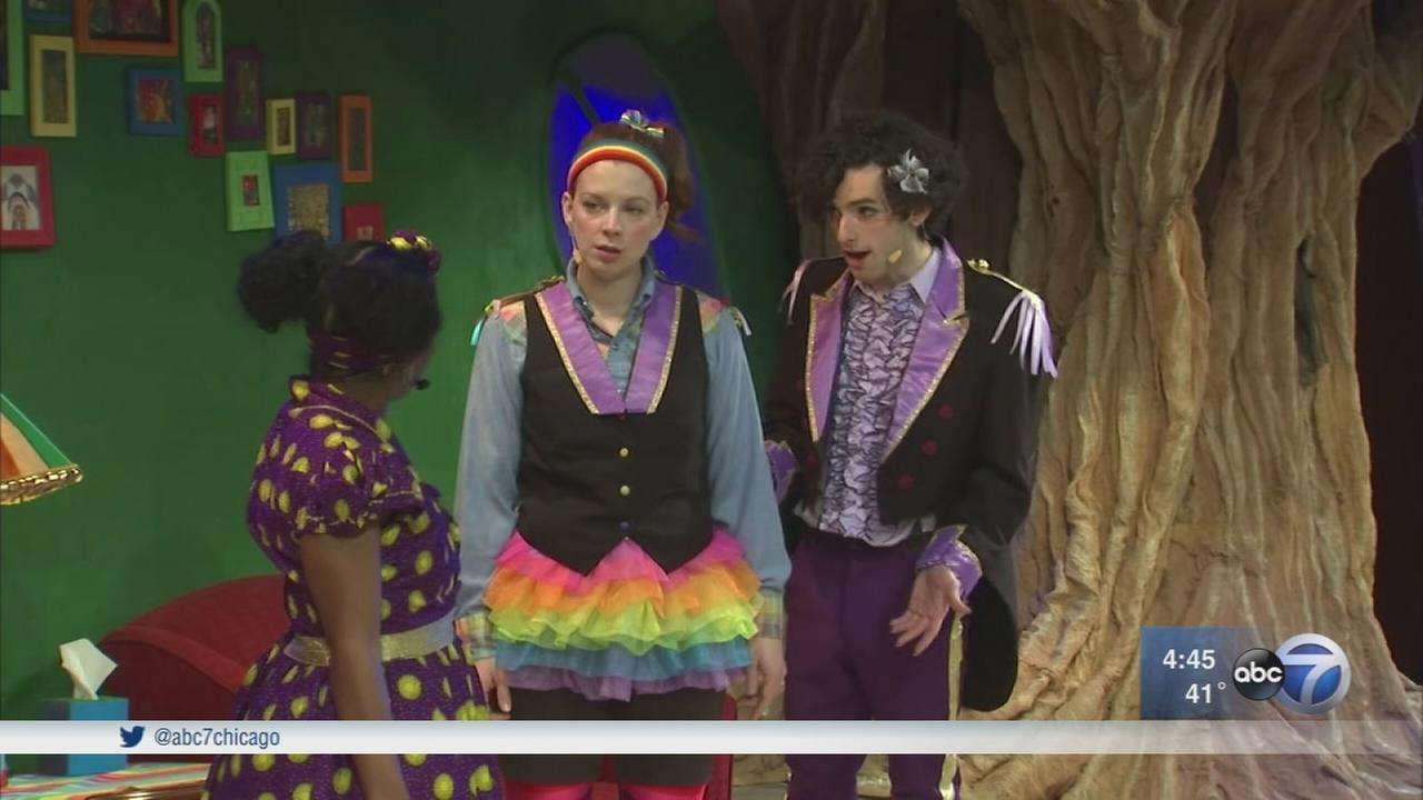 Interactive play for kids explores issues of race, diversity