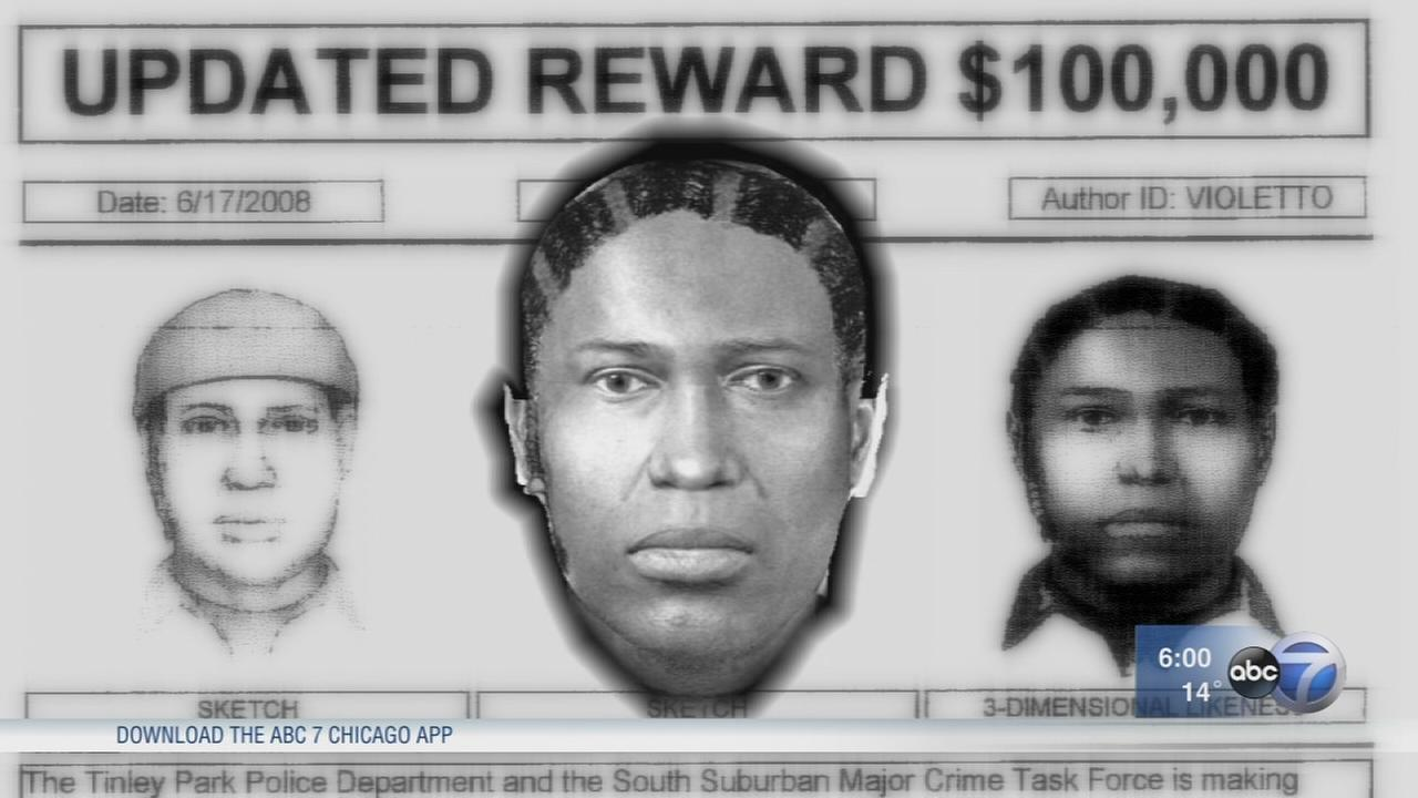 Tinley Park police release new 3D sketch of Lane Bryant murder suspect