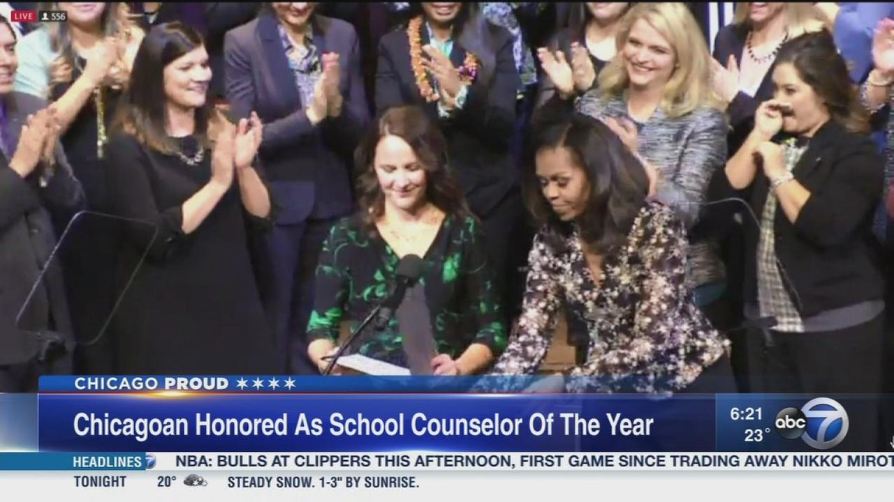 Chicago Educator named Counselor of the Year