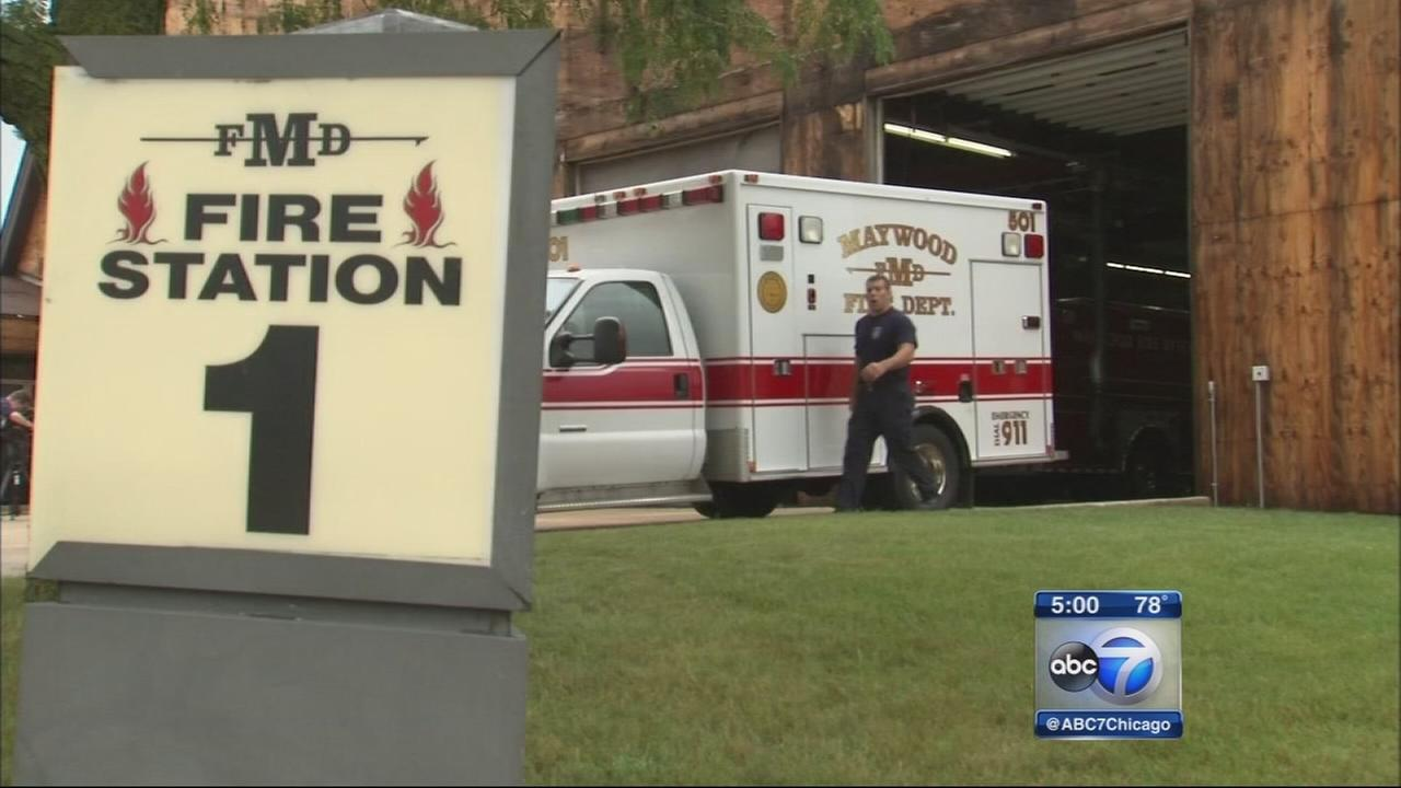 Maywood fire department at odds
